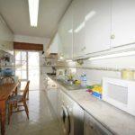 Kitchen with door to terrace